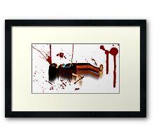 Butcher Framed Print