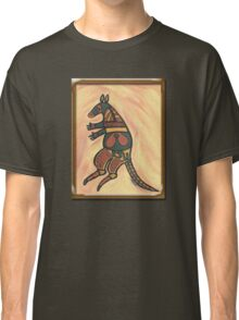 Painted Kangaroo Classic T-Shirt