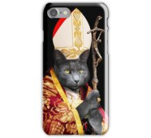 Cat Pope  iPhone Case/Skin