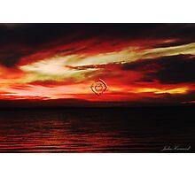 Muladhara ~ Base Chakra ~ Red Photographic Print