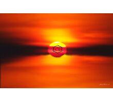 Swadhisthana ~ Sacral Chakra ~ Orange Photographic Print