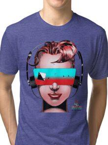 House Head Female Avatar Tri-blend T-Shirt