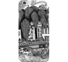 River Temple iPhone Case/Skin