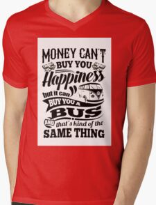 Happiness Mens V-Neck T-Shirt