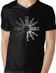 Gunflake Mens V-Neck T-Shirt
