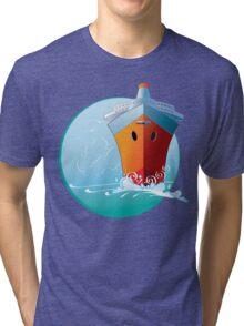 Full Steam Ahead Tri-blend T-Shirt