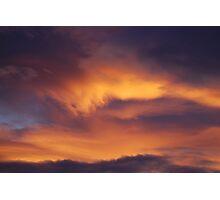 Heavenly brush strokes Photographic Print