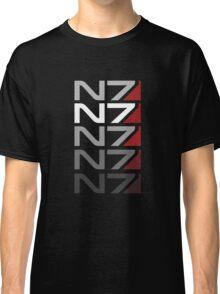 N7 gradient Classic T-Shirt