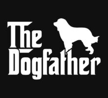 THE DOGFATHER Great Pyrenees Dogs One Piece - Short Sleeve