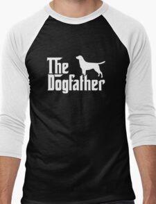The Dogfather Labrador Retriever Dogs Men's Baseball ¾ T-Shirt