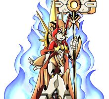 Mistress of Flame  by karrashi