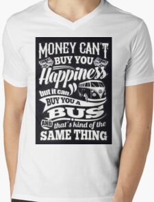 VW Happiness Mens V-Neck T-Shirt
