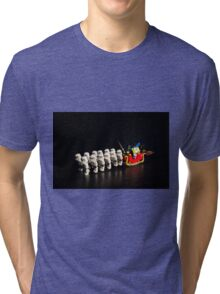 Darth Santa Tri-blend T-Shirt