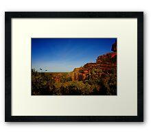 Escarpment Country 3 Framed Print