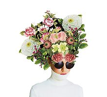 Head full of Flowers by Lenka Laskoradova