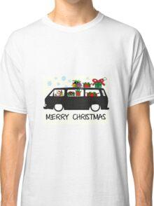 Santa drives a T25 Classic T-Shirt