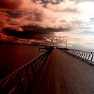 Jetty at Lorne, Great Ocean Rd, Victoria. by geof