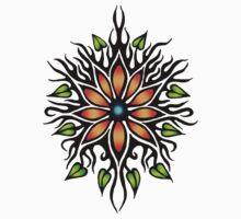 Zen Flower by BobbiFox