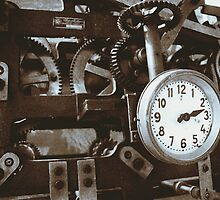 Clock by Janette Zlamal