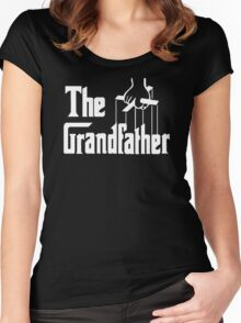 The Grandfather Gift For Grandad Fathers Women's Fitted Scoop T-Shirt