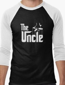 The Uncle T-shirt Godfather Inspired Men's Baseball ¾ T-Shirt