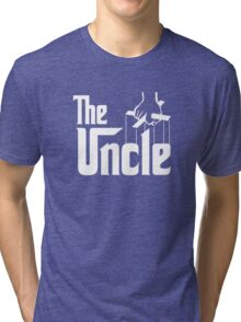 The Uncle T-shirt Godfather Inspired Tri-blend T-Shirt