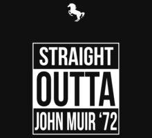 Straight Outta John Muir '72 Black by Samuel Sheats
