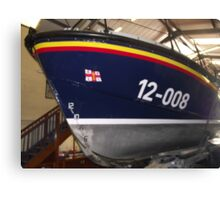 Skegness Lifeboat Canvas Print