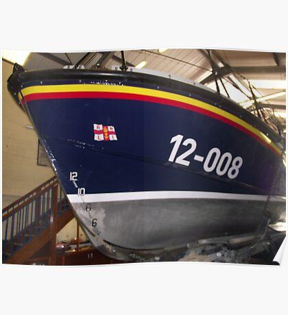 Skegness Lifeboat Poster