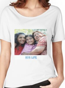 The Hug life Women's Relaxed Fit T-Shirt