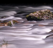 Silky water - Cornwall by Adam North