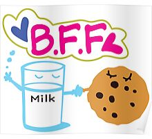 Milk and Choco chip  BFF Poster