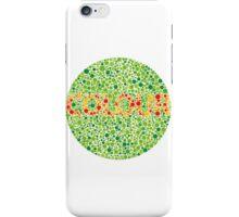 Colour Blindness iPhone Case/Skin