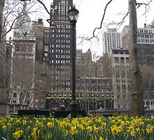Bryant Park, New York by asvante