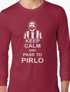 ANDREA PIRLO KEEP CALM Long Sleeve T-Shirt