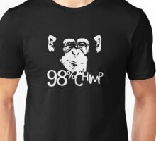 Homme Humoristique 98% Chimp Unisex T-Shirt