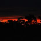 A Kimberley Sunset.. The Town of Halls Creek by asvante