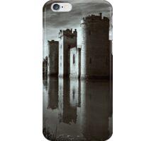 Bodiam Castle mono iPhone Case/Skin