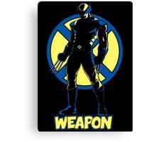 Weapon X Canvas Print