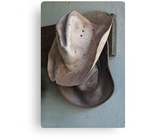 Two Hats Canvas Print
