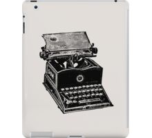 Type! Writer! iPad Case/Skin