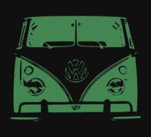 VW Kombi Green Design by ultimatekombi