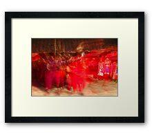 Spiritual Masai Dance Framed Print