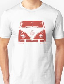 VW Kombi Red Design T-Shirt