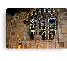 St Olave's York Canvas Print