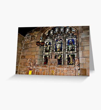 St Olave's York Greeting Card