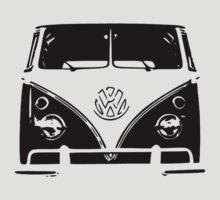VW Kombi Black design by ultimatekombi