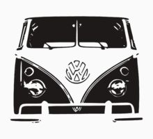 VW Kombi Black design Kids Clothes