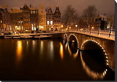 Amsterdam in Snow by Gordito73