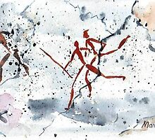 Bushman Rock Paintings by Maree Clarkson